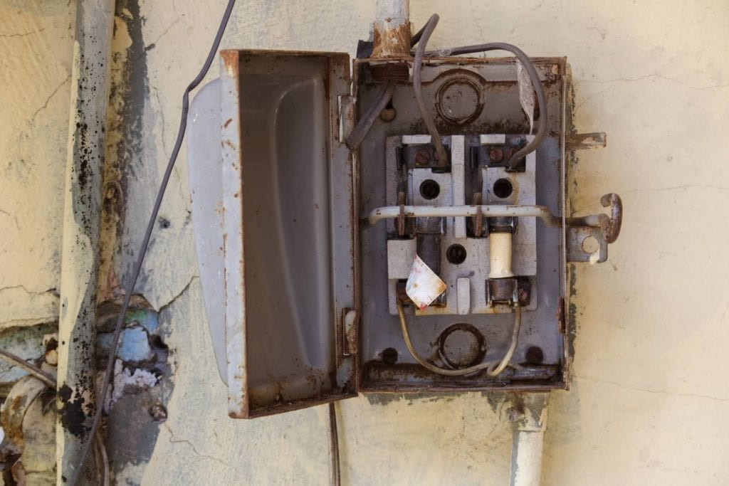 Common problems found in electrical systems